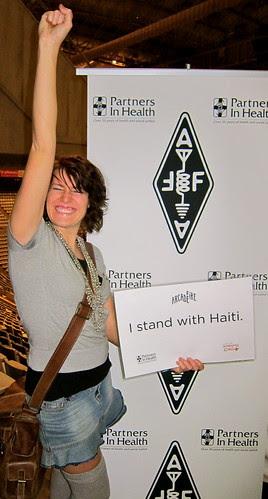 Standing with Haiti!