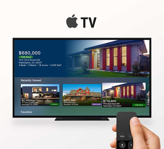 New app lets buyers search home listings on their TV