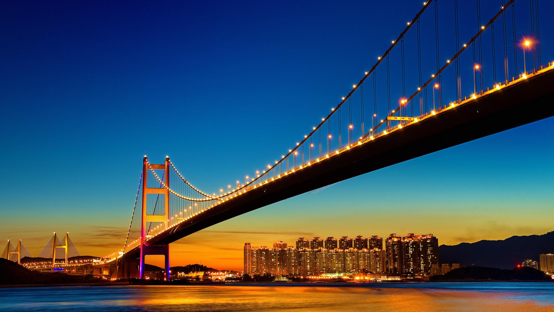 Golden Gate Bridge Night San Francisco Wallpapers Hd Wallpapers