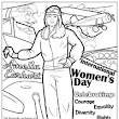 Coloring Books | Free Online Coloring Pages International Women's Day - Free Coloring Page