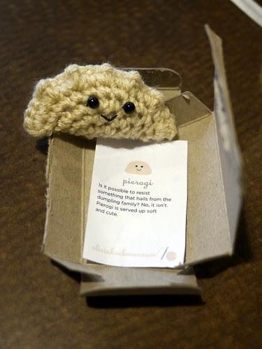 Crochet Pierogi