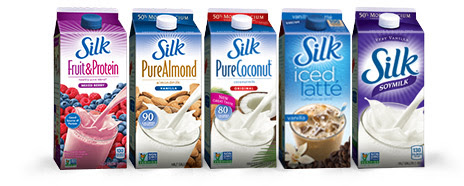 New Silk Offers - Fruit & Protein, Iced Latte, and more.