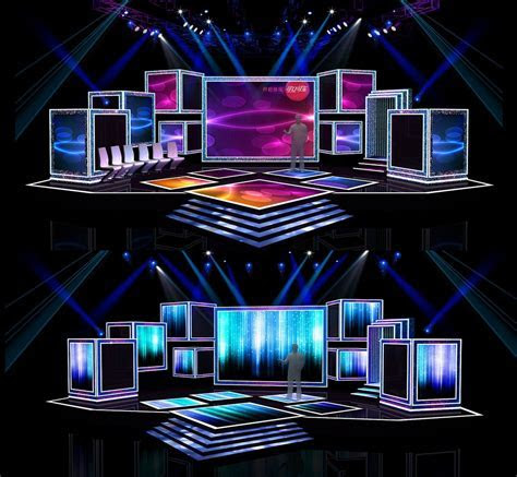 Download Concert stage design 7 free 3D model or browse