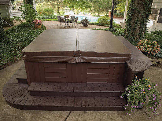 What to do when your hot tub cover gets waterlogged - Niagara Hot Tubs