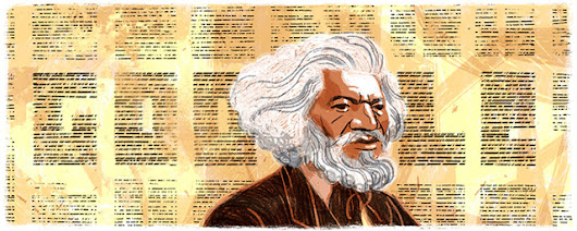 Google Goes With Frederick Douglass Logo For Black History Month
