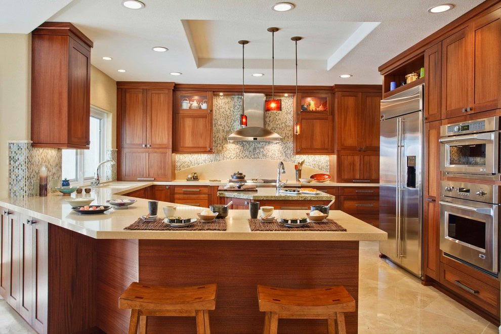Kitchen cabinet peninsula ideas | Hawk Haven