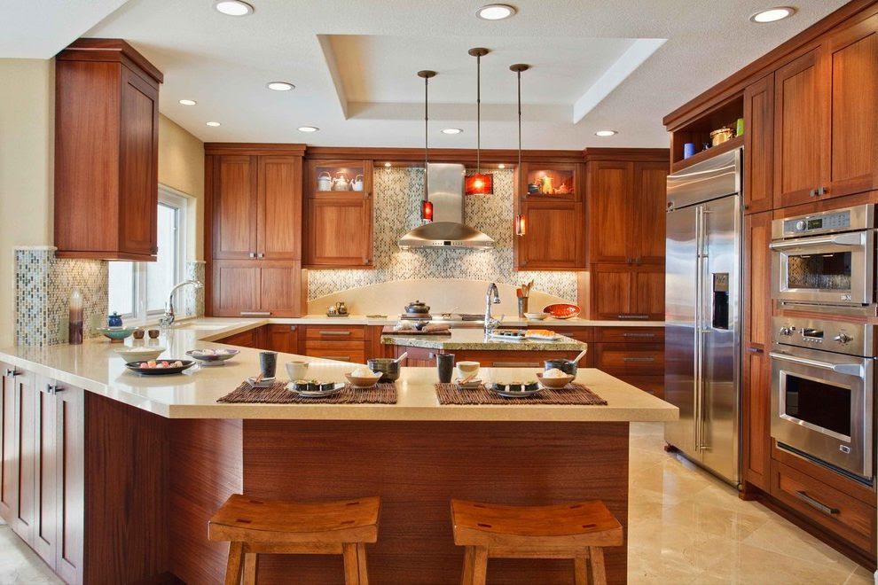 Kitchen cabinet peninsula ideas   Hawk Haven