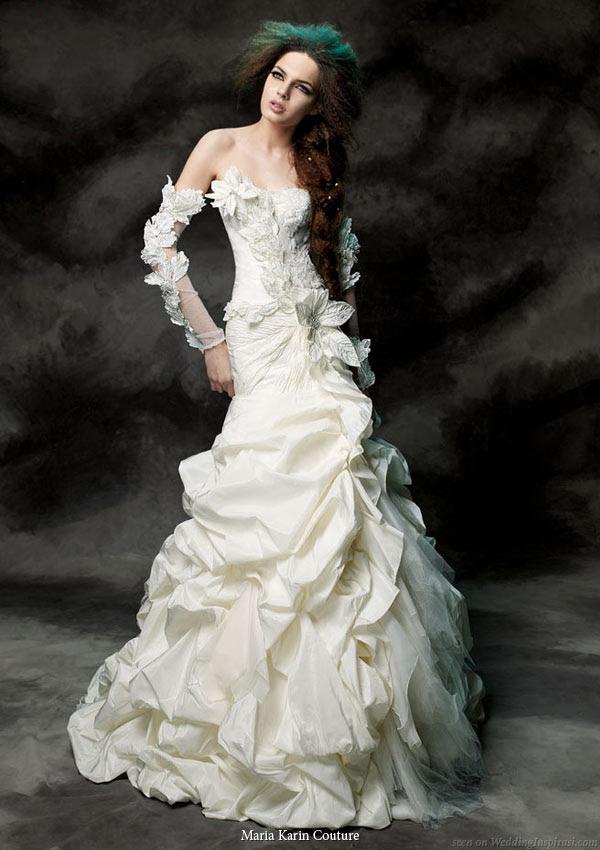 Nam Gyu Ri Wallpaper: Strapless Wedding Dresses