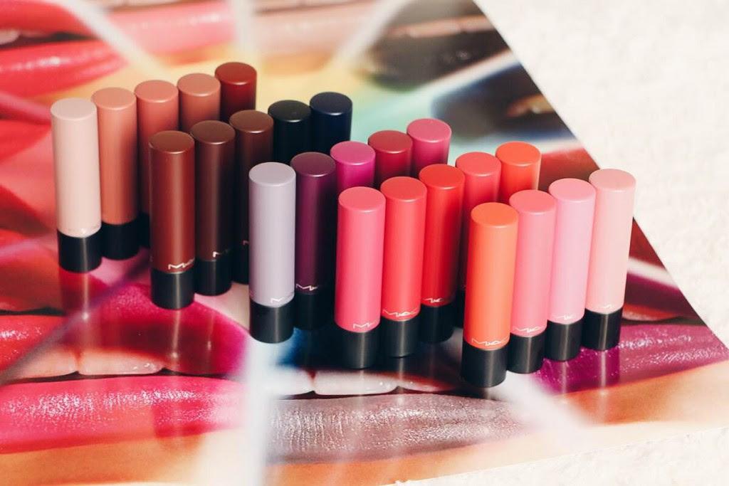 Liptensity Le Nouveau Rouge à Lèvres Mac Swatches Des 24