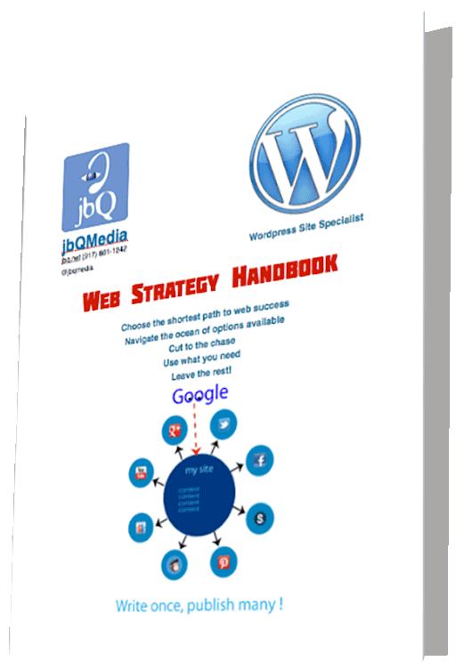 New! Web Strategy Handbook - jbQ Media
