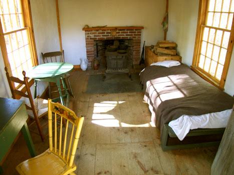 Thoreau Inside Cabin