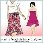 Cabriolet Wrap-Over Skirt/Dress
