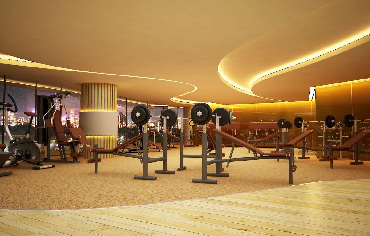 Phòng tập Gym tại Bright City