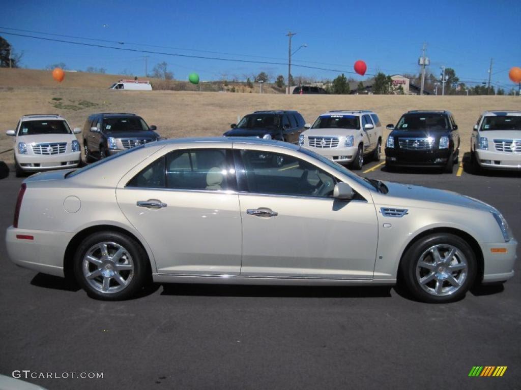 Gold Mist 2008 Cadillac STS V8 Exterior Photo #45975578 ...
