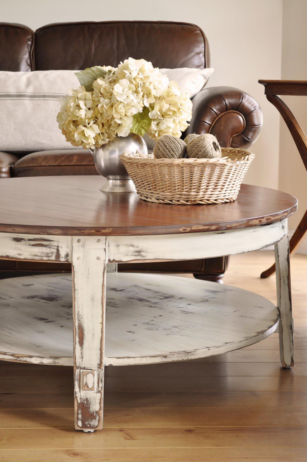 Painted Coffee Table is Like Modern Fashion   Coffee Table ...