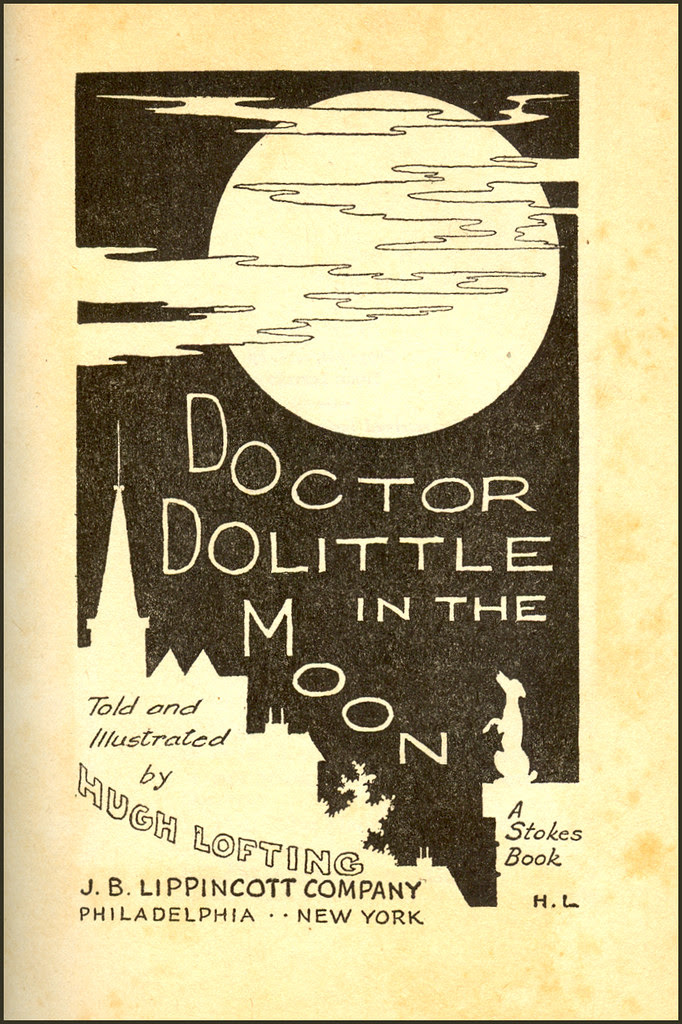 Title Page - Doctor Doolittle in the Moon