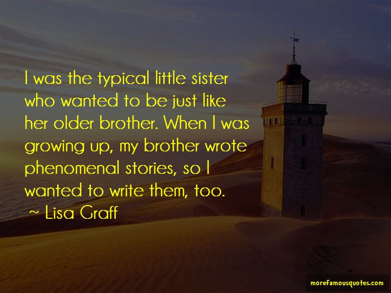Quotes About Older Sister And Little Brother Top 8 Older Sister And