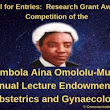 Omololu-Mulele Research Grant Award Competition 2019 - RECRUITMENTNG