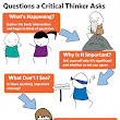 A Great Poster on The 6 Questions Critical Thinker Asks ~ Educational Technology and Mobile Learning
