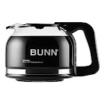 BUNN Home 49715.0100 10 Cup Coffee Carafe - Glass - Black