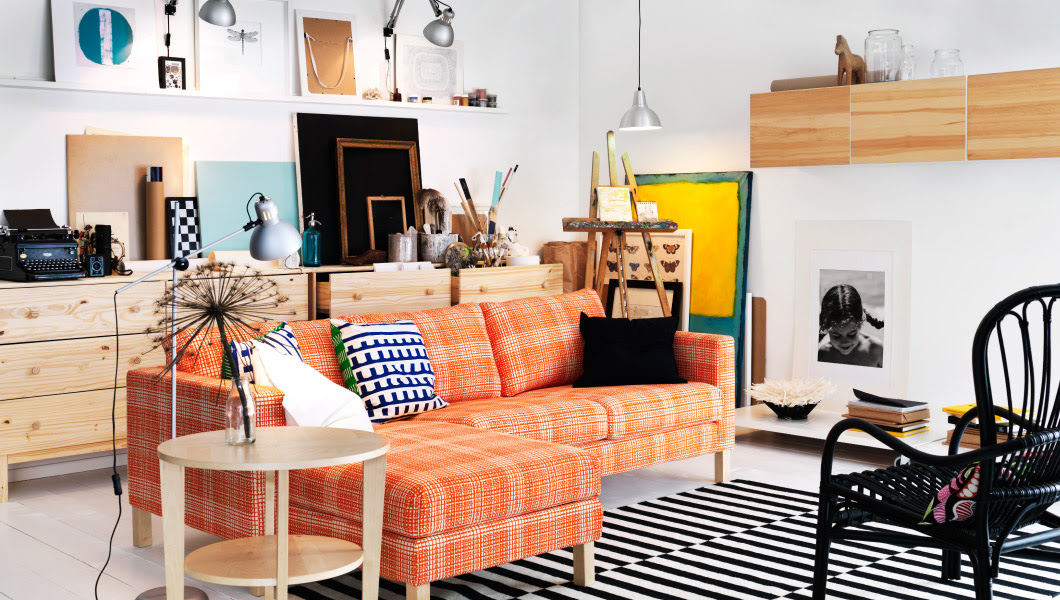 20 Advices from Ikea on How to Decorate Small, Living ...