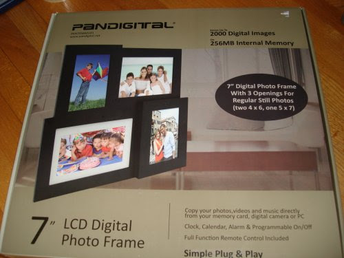 Pandigital Pan7056mu01 Discount On Sale Digital Picture Frame