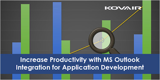 Increase Productivity with MS Outlook Integration for Application Development - Kovair Blog
