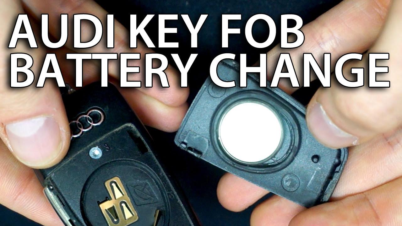 Audi A3 Key Battery Low