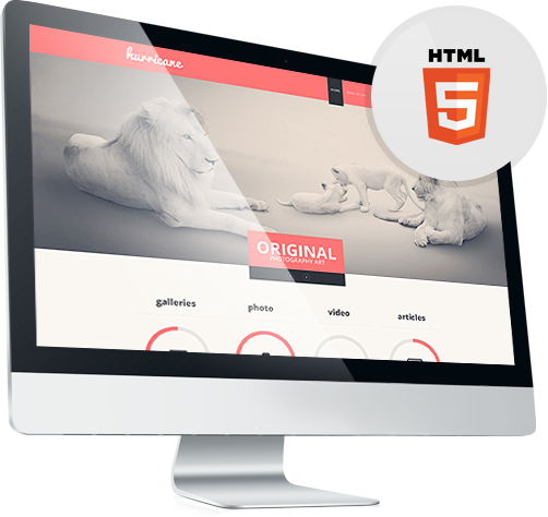 HTML & Flash Templates