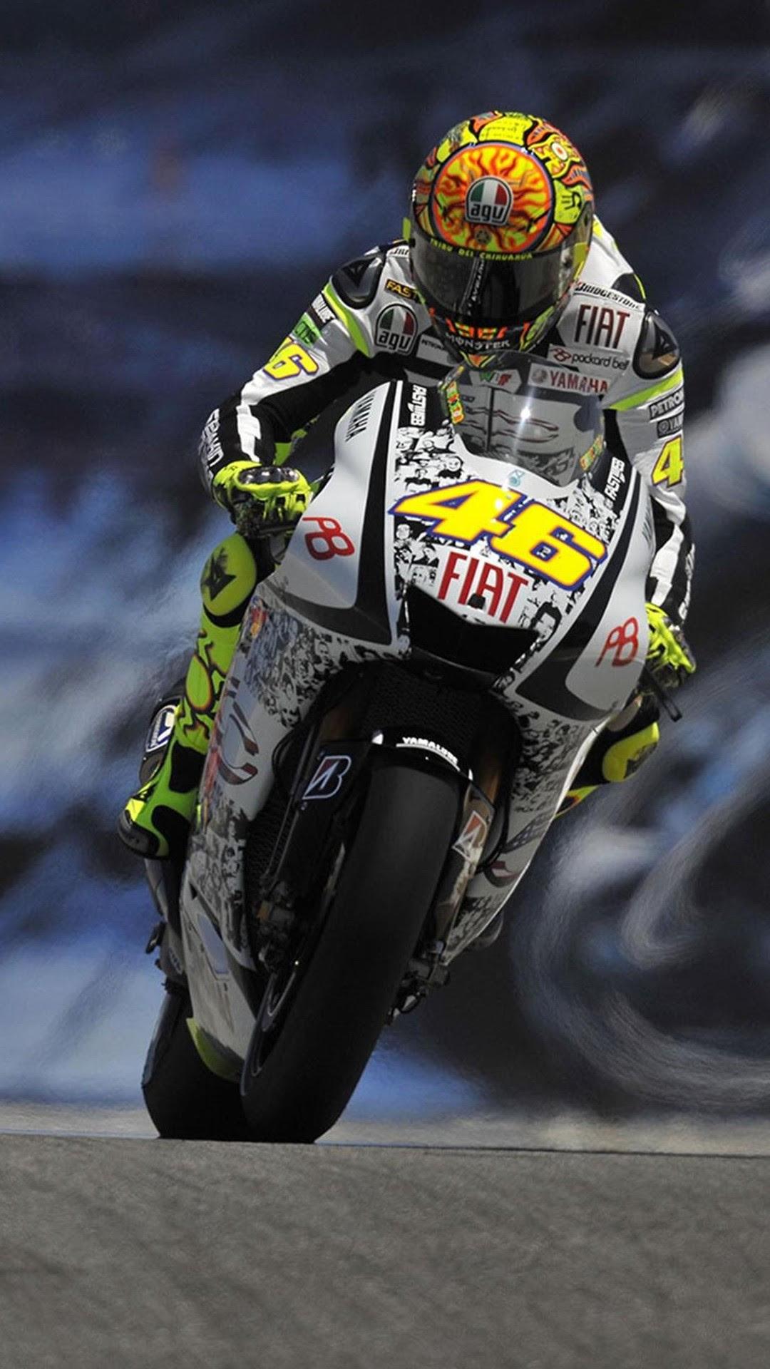 Valentino Rossi MotoGP  Best htc one wallpapers