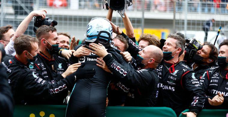 Mercedes: 'Geruststelling dat we laten zien betere auto te hebben dan Red Bull'