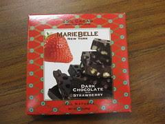 Marie Belle Dark Chocolate with Strawberry