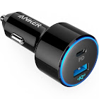 Anker USB-C Car Charger PowerDrive II PD with 1 PD and 1 PIQ with Power Delivery for MacBook Pixel iPhone X88 Plus and PowerIQ