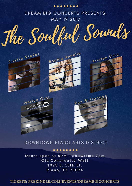 The Soulful Sounds Concert - Old Community Well - Plano, TX | Prekindle Tickets