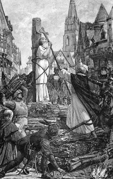 The Execution Of Joan Of Ark