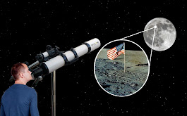 Can We Use Telescopes To See If The Moon Landings Were Real?
