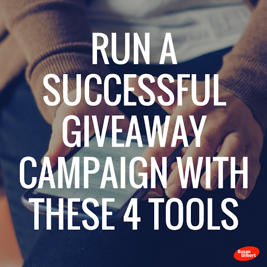 Run a Successful Social Media Giveaway Campaign with These 4 Tools
