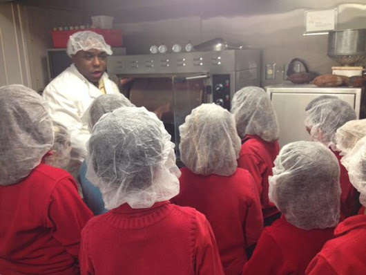 "BSW on Twitter: ""Year 3 at real-life Willy Wonka factory. Spagnvola  chocolate factory.  Topic: Saving the rainforest  #IPCChocolate """