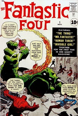 When Was The Comic Book Fantastic Four First Created