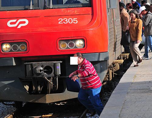 segurança comboio