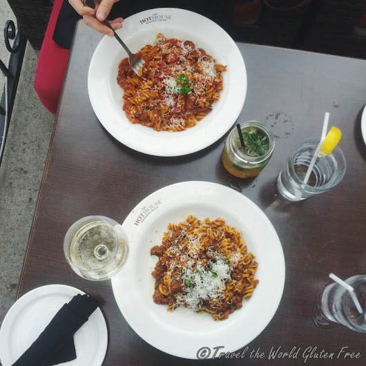 Gluten Free Pasta at The Hot House in St. Lawrence Market Neighbourhood - Travel the World Gluten Free
