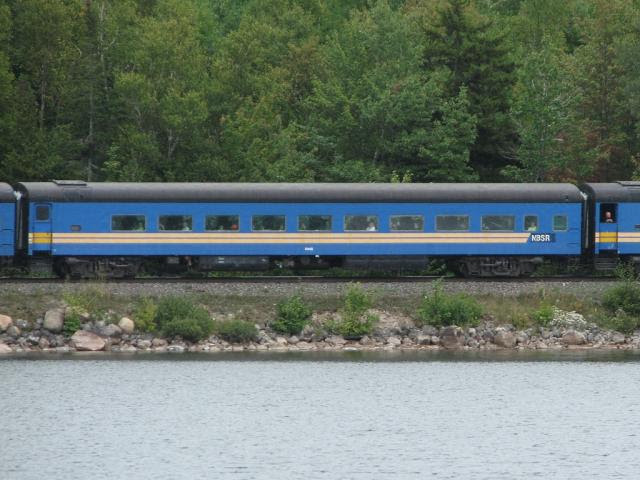 NBSR 5448 at Harvey Lake, 2007/09/15