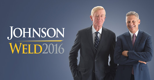 You In? Gary Johnson and Bill Weld - On the Issues
