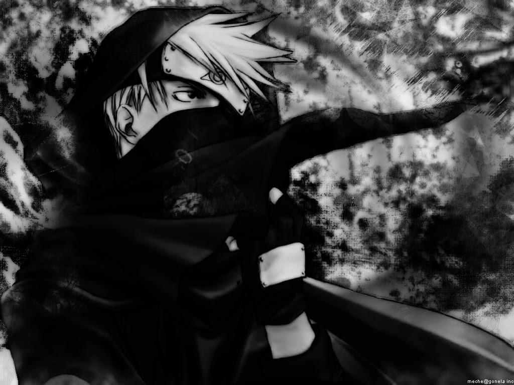 Naruto Wallpaper Kakashi Black And White Day Minitokyo