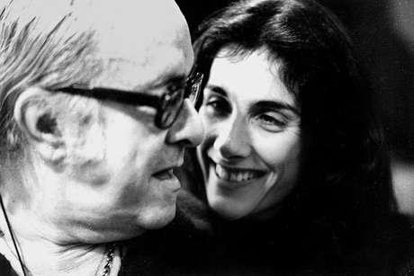 Suzana de Moraes e o pai, Vinicius  Foto: Reprodução