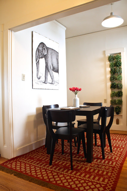 My Houzz: San Francisco - Eclectic - Dining Room - San Francisco - by Shannon Malone