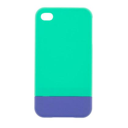 Colorblock iPhone 4 case