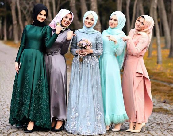 Muslimah Bridesmaid Dresses - Events - Nigeria