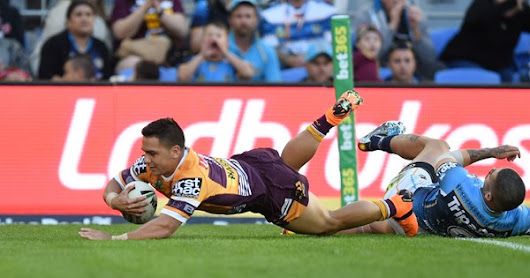 Joe Ofahengaue stars as Brisbane Broncos record huge win over Gold Coast Titans