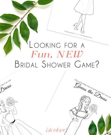 "Katrina: Bridal Shower Game: ""Guess The Dress"""